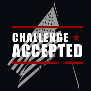 Challenge Accepted Shirts Design
